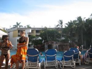 view at the El Cid pool